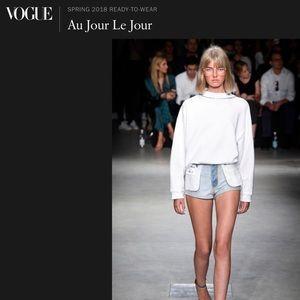 Au Jour Le Jour Spring 2018 R2W Inside Out Shorts